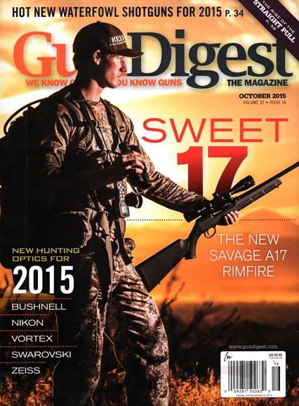 Gun Digest Cover - 10/1/2015
