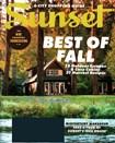 Sunset Magazine | 11/1/2015 Cover
