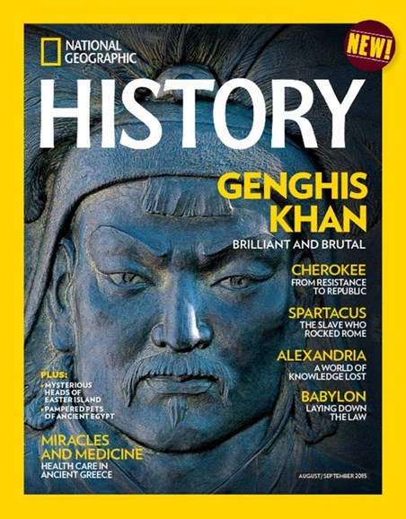 National Geographic History Cover - 8/1/2015