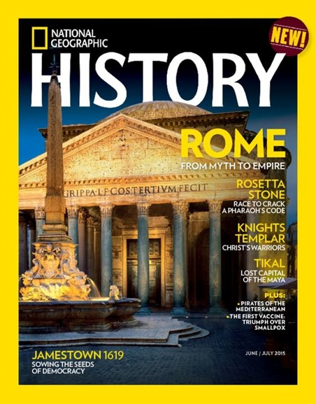 National Geographic History Cover - 6/1/2015