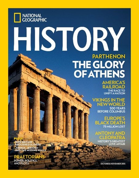 National Geographic History Cover - 10/1/2015