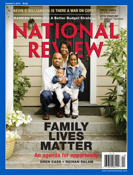 National Review Cover - 10/5/2015
