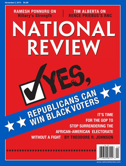 National Review Cover - 11/2/2015