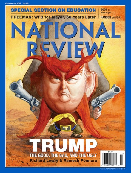 National Review Cover - 10/19/2015