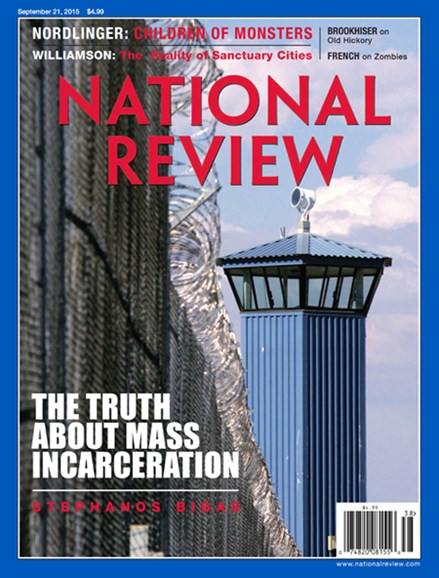 National Review Cover - 9/21/2015