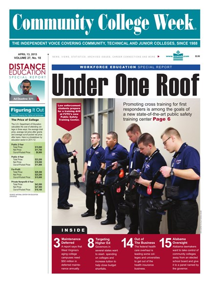 Community College Week Cover - 4/13/2015