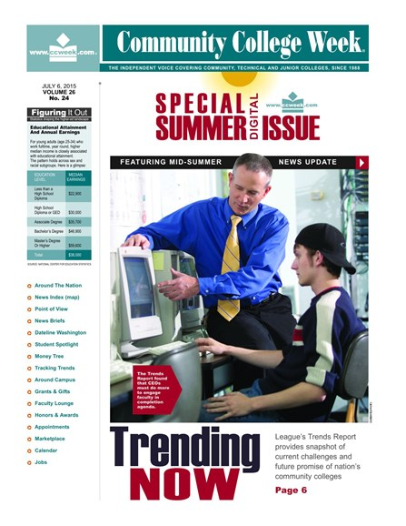 Community College Week Cover - 7/6/2015