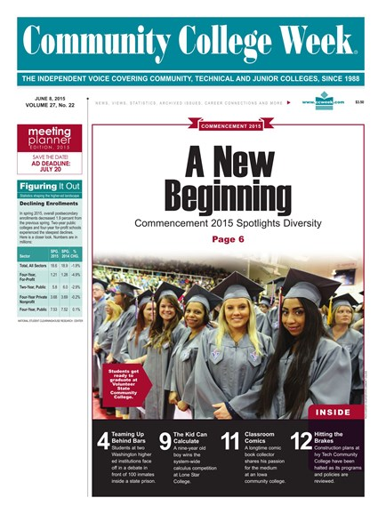 Community College Week Cover - 6/8/2015