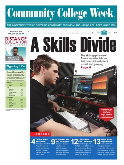 Community College Week Cover - 3/30/2015