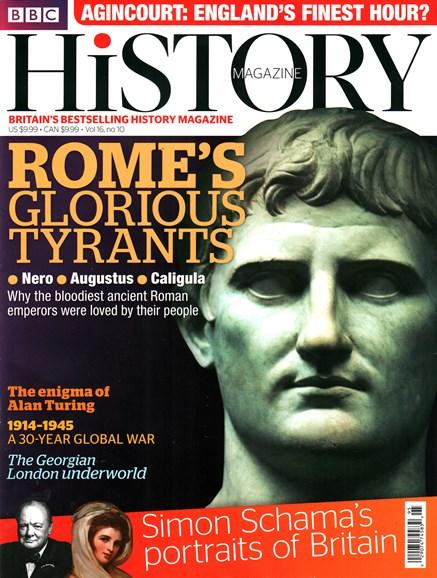 BBC History Cover - 10/1/2015