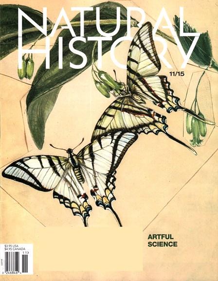 Natural History Cover - 11/1/2015