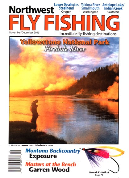 Northwest Fly Fishing Cover - 11/1/2015