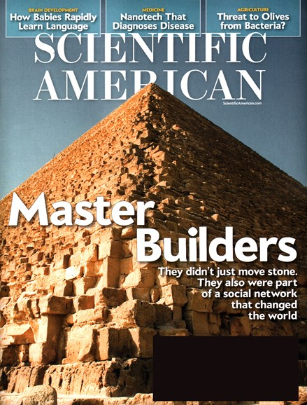Scientific American Cover - 11/1/2015