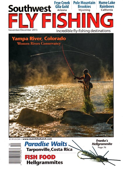Southwest Fly Fishing Cover - 11/1/2015