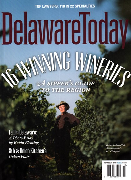 Delaware Today Cover - 11/1/2015