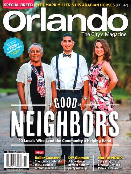 Orlando Magazine Cover - 11/1/2015