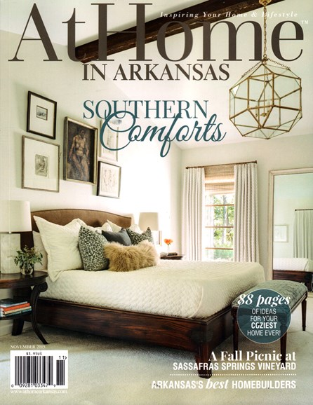 At Home In Arkansas Cover - 11/1/2015