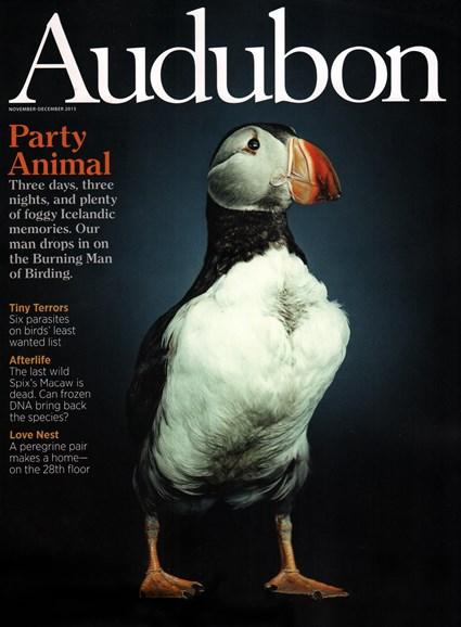 Audubon Cover - 11/1/2015