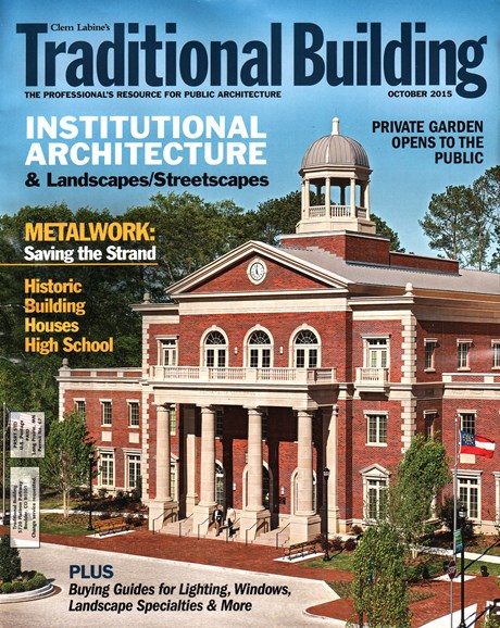 Traditional Building Cover - 10/1/2015