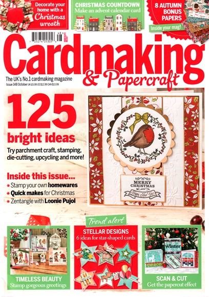 CardMaking & PaperCrafts Cover - 10/1/2015