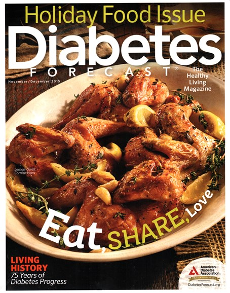 Diabetes Forecast Cover - 11/1/2015
