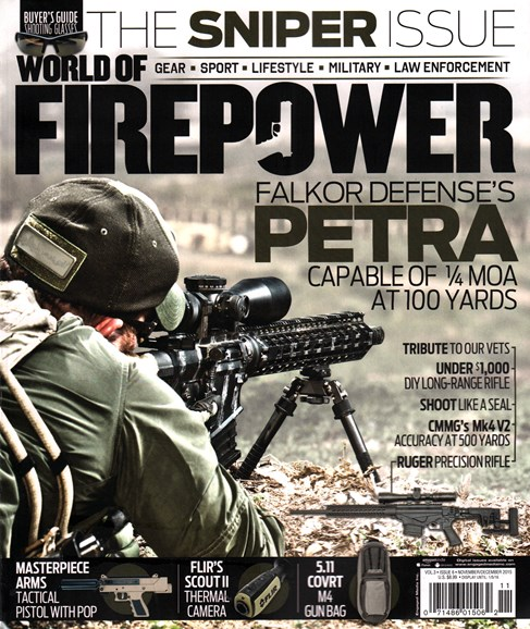 World of Firepower Cover - 11/1/2015