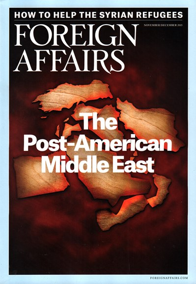 Foreign Affairs Cover - 11/1/2015