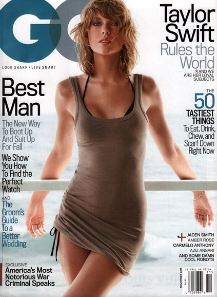 Gentlemen's Quarterly - GQ Cover - 11/1/2015