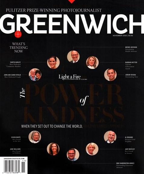 Greenwich Cover - 11/1/2015