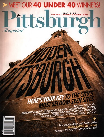 Pittsburgh Magazine Cover - 11/1/2015