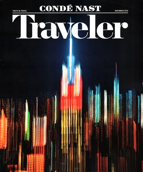 Condé Nast Traveler Cover - 11/1/2015