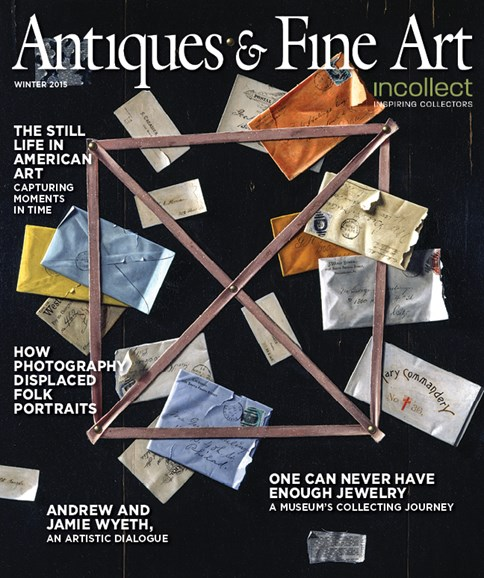 Antiques & Fine Art Cover - 12/1/2015
