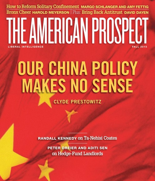 The American Prospect Cover - 9/1/2015