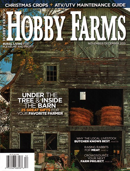Hobby Farms Cover - 11/1/2015