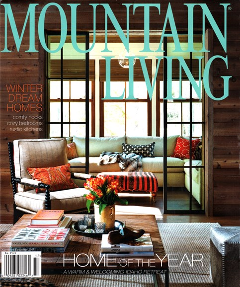 Mountain Living Cover - 11/1/2015