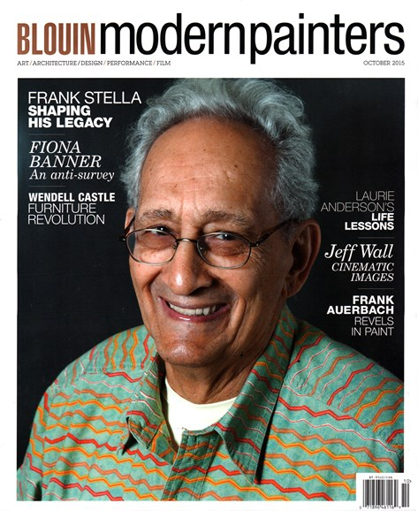 Blouin Modern Painters Cover - 10/1/2015