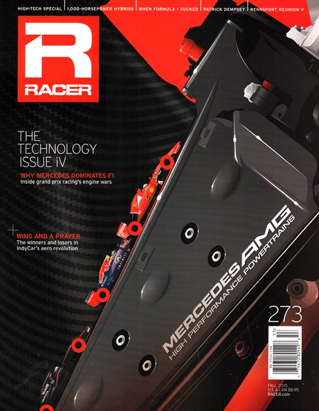 Racer Cover - 10/1/2015
