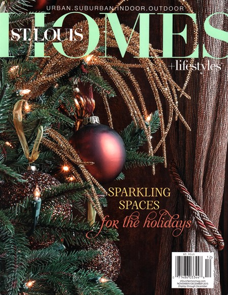 St. Louis Homes & Lifestyles Cover - 11/1/2015