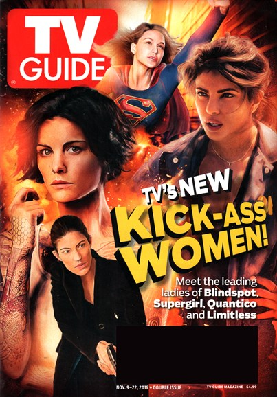TV Guide Cover - 11/9/2015