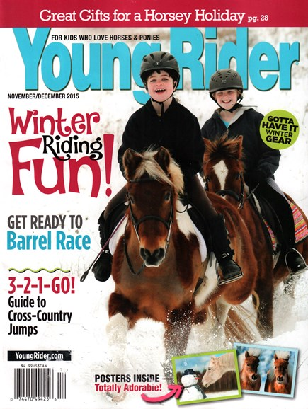 Young Rider Cover - 11/1/2015