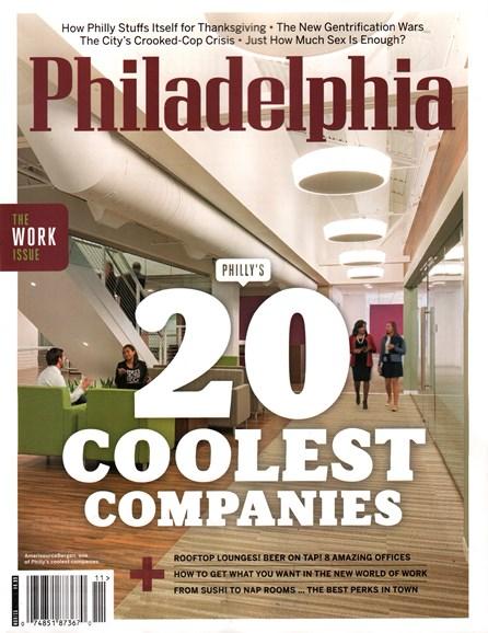 Philadelphia Magazine Cover - 11/1/2015