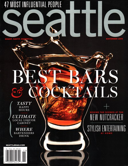 Seattle Magazine Cover - 11/1/2015