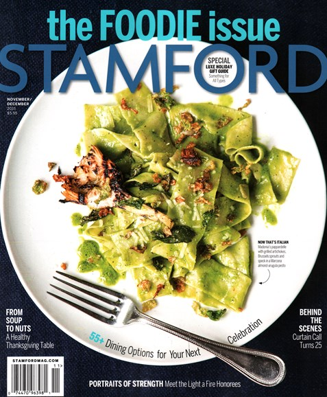 Stamford Magazine Cover - 11/1/2015