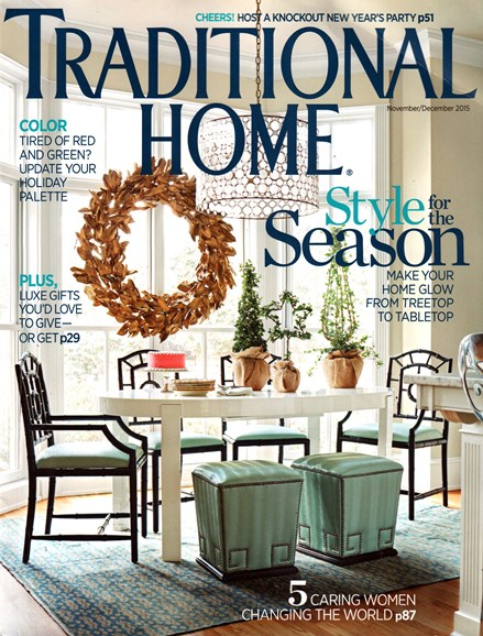 Traditional Home Cover - 11/1/2015