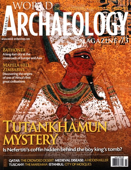Current World Archaeology Cover - 10/1/2015