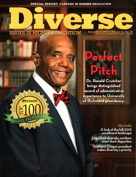 Diverse: Issues In Higher Education Cover - 11/5/2015