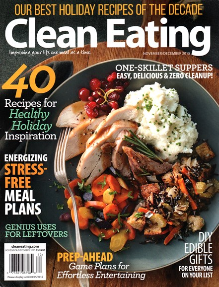 Clean Eating Cover - 11/1/2015