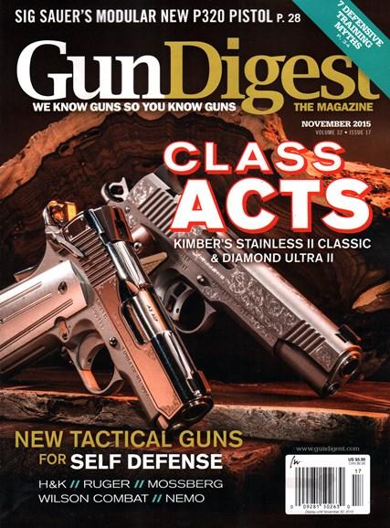 Gun Digest Cover - 11/1/2015