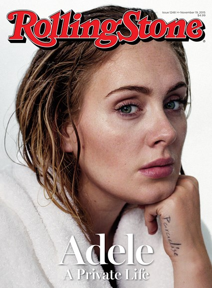 Rolling Stone Cover - 11/19/2015