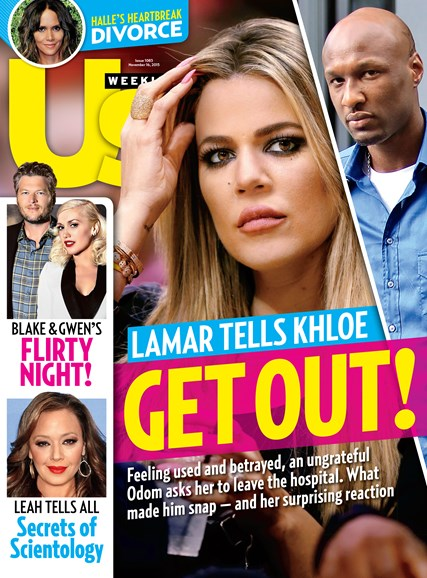 Us Weekly Cover - 11/16/2015
